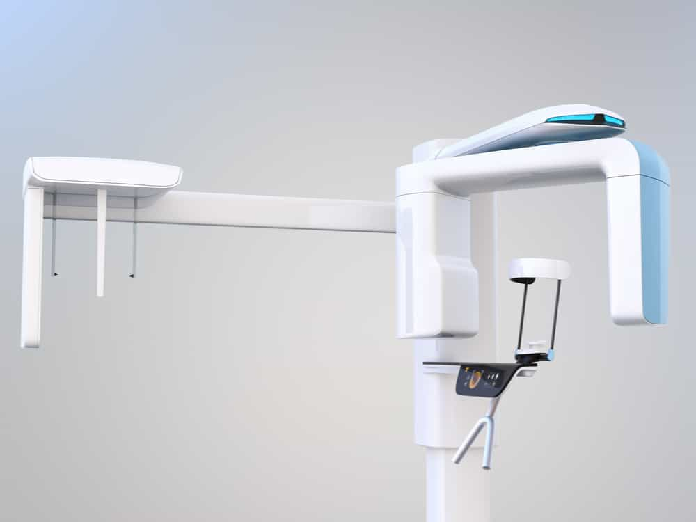 CBCT showing the concept of Technology