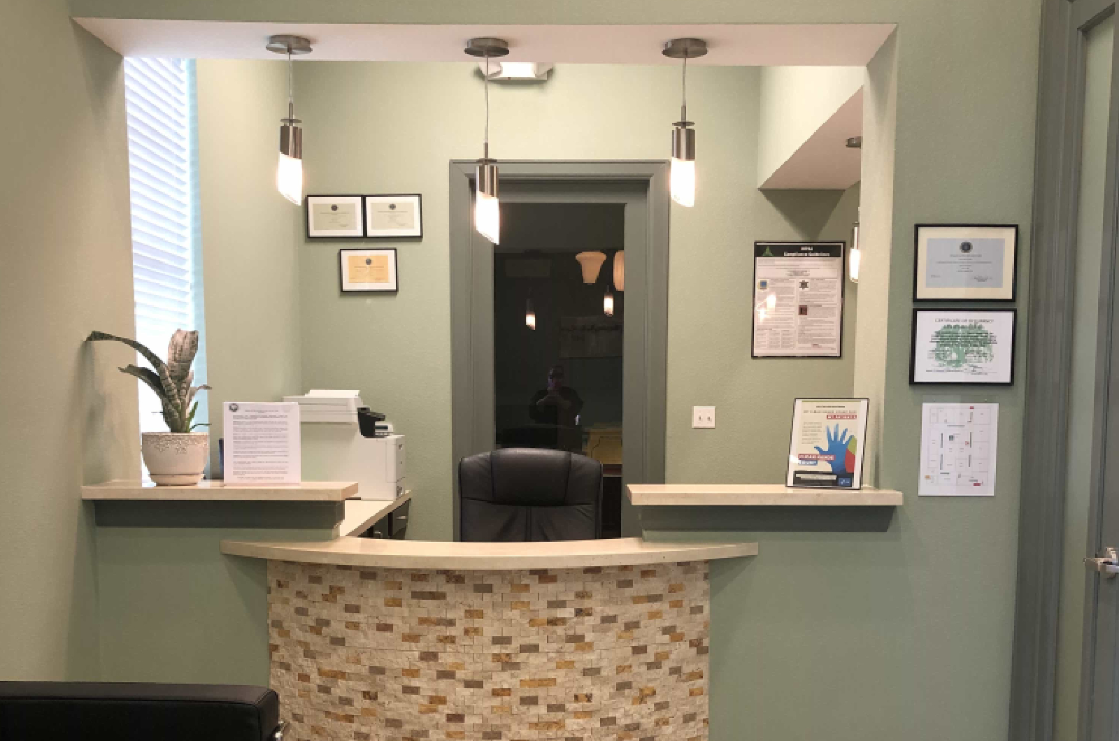 front office of eco dental